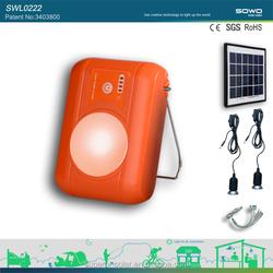 2 W solar lighting system,solar home lighting system,low cost solar lighting system