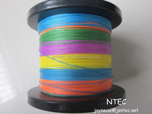 1000m PE braid fishing line 4/6/8 weaves mixed color