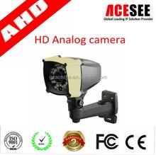 IP66 waterproof sony tech 960H hd ahd cctv camera wiht low illumination fashion case