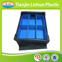 custom waterproof moisture resistant plastic reusable shipping box