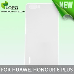 Latest new 3D Blank sublimation case for Huawei honour 6 plus