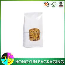 Cheap wholesale paper snack food packaging bag