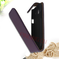 leather flip case back cover for samsung galaxy core i8260 i8262