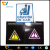 Colorful customize reflective car body sitckers for road safety