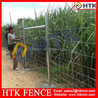 SGS/BV/ISO Hot Dipped Galvanized Iron Grassland Fence