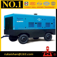 33m3 25bar CAT Diesel Engine Portable Screw air compressor for oil well drilling