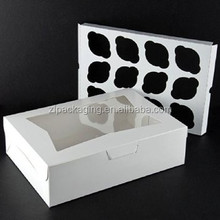 Paper Cupcake Boxes & Inserts