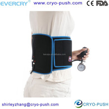 reusable cold -hot back support brace with back support belt