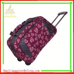 I725 Fashionable design pink travel holdalls