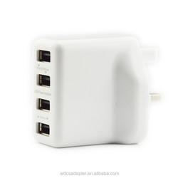 5V /3.5A 4 port Desktop USB Charger with FCC CE digital desktop usb charger