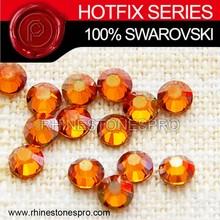 Wedding Dress Swarovski Elements Copper (COP) 6ss Crystal Iron On Hot Fix Rhinestone