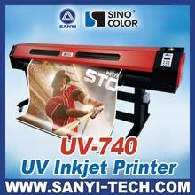 UV-740 Large Format UV Printer, Roller&Flatbed Available