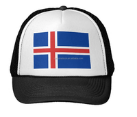 2015 different kinds of summer fashion cheap funny wholesale Iceland flag hat