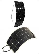 fabric monocrystalline polycrystalline silicon flexible solar panel for RV&boat