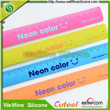 Slap shape with degree scale silicone ruler
