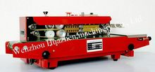 plastic embossing machine FRD-900 plastic sealer use our continuous sealer