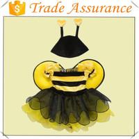 Children Halloween Bumble Bee Cartoon Mascot Costume Party Cosplay Fancy Dress Costume /baymax mascot costume