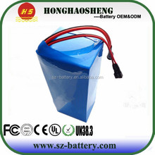 hot sale best price rechargeable 20ah sea scooter battery 24v