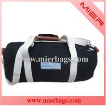 canvas cotton black gymnastic duffel sports travel bag
