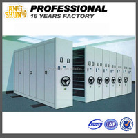 Information Rooms and Libraries Easy Operate compactor steel Mobile System Intelligent Metal Compact cabinet mass shelf