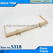 No.5318 Wholesale classical bag accessory metal purse frame