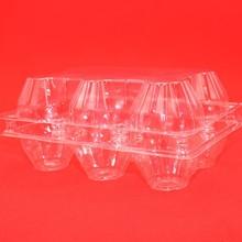 Glassclear PET egg packaging tray for supermarket ;PET egg box;plastic egg boxes