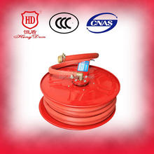 red hose reel red rubber covered fire hose pvc fire hose reel low price