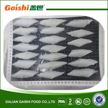 china new product frozen seafood alaska waters fish arrow tooth flounder frill slice for japanese sushi sashimi