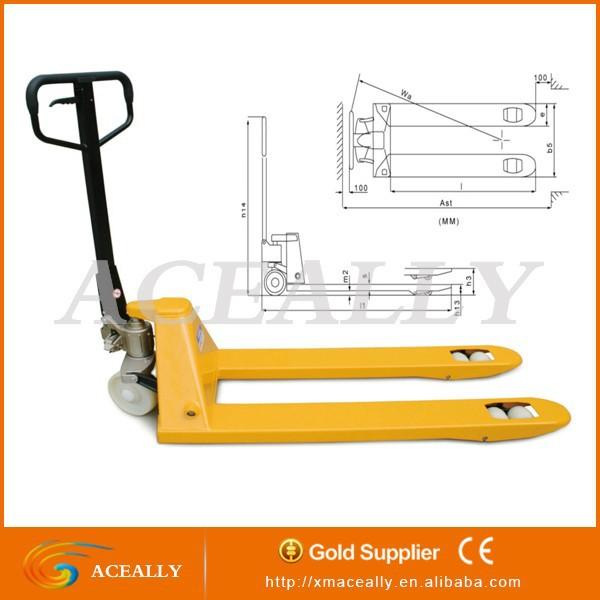 Hydraulic Pallet Lifters : Steel hydraulic pallet lifter for sale buy