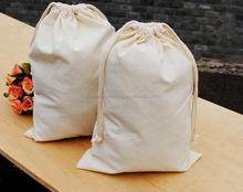 China Manufacturer New Style 100% high quality custom cotton drawstring bag