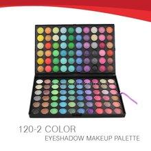 Cheap china cosmetics eye shadow kit 120 Colors free makeup samples cosmetics