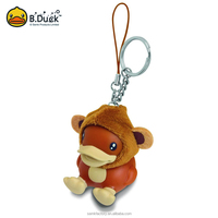 Hot item new styles cute year monkey key ring