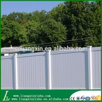 New arrived pvc garden privacy fence