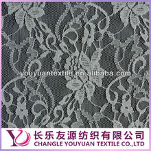 Nylon elastic skirt lace fabric for selling