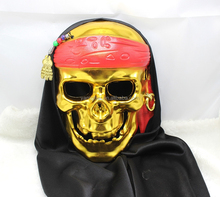 cheap funny lady party terrorist Halloween plastic ghost skull mask