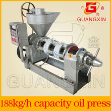 manual de expeller prensa de aceite semi-automático con calentador