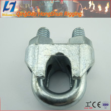 hardware item din741 wire rope clip manufactory in qingdao wide usaged crane clip