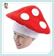 Birthday Fancy Dress Novelty Party Toadstool Felt Hats HPC-0280