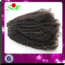 2015 no shedding no tangle 5a grade wholesale afro hair nubian kinky twist