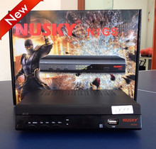 nusky n1gs decodificador tv digital free to air decoder twin tuner iks sks free