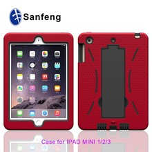 2015 3D Submilation Back Tablet Case Cover for Ipad mini 2 3 4 Cell Phone Accessories
