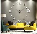 Luxo 3D relógios de parede decorativos fantasia Diy relógio EVA para crianças brincando