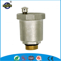 nickel plated 1 2 inch BSP thread brass automatic air vent valve