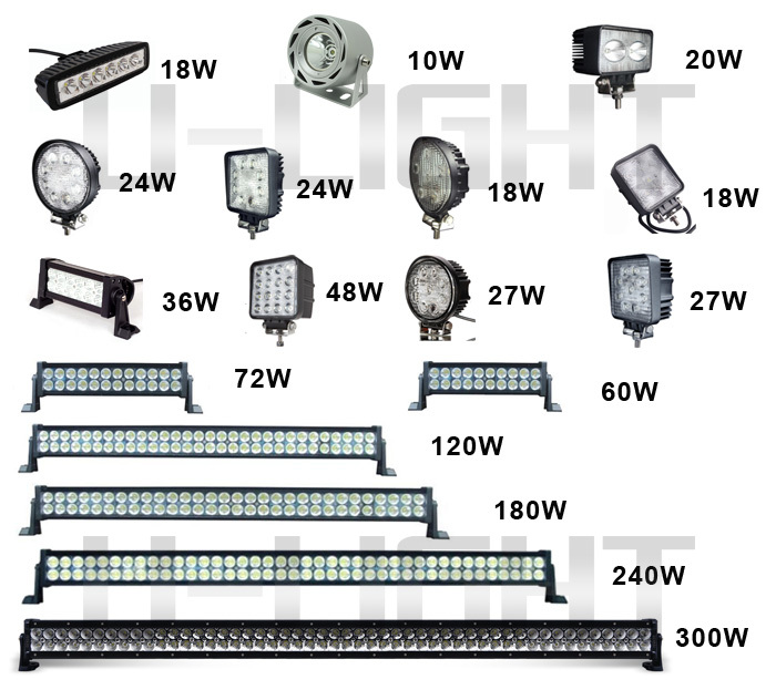 Newest design top quality 7 inch 36w led light barled work light led light bar models mozeypictures Choice Image