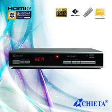 Digital Full HD DVB-T Terrestrial Receiver H.264 MPEG4 HDMI Scart TV Set TOP BOX