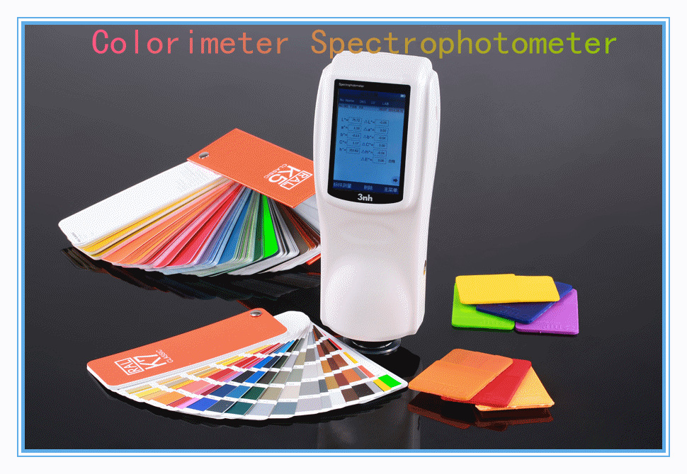 Cie Lab D65 Digital Spectrophotometer Printing Machine For