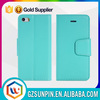 Good sale protective wallet style leather phone case cover for iphone 5