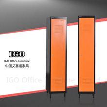 IGO-Furniture steel clothes cabinet steel wardrobe rail