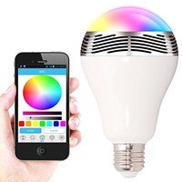 Colorful bulb LED light mini bluetooth wireless speaker