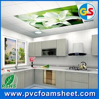 High density plastic foam 1mm thick sell color pvc foam sheet